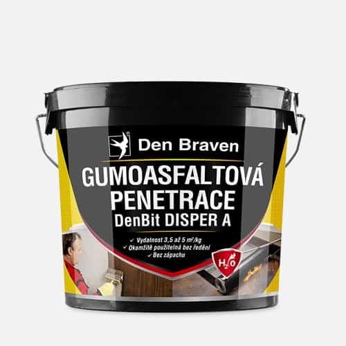 DENBIT DISPER A Gumoasfaltová penetrácia cierna 5 kg