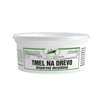 PAM Tmel na drevo - Jednozložkový brúsiteľný tmel 0,2 kg natural