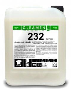 CLEAMEN 232 Strojné umývanie riadov ACTIVE