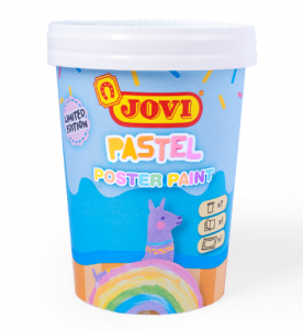 JOVI PASTEL - Mini sada temperových farieb