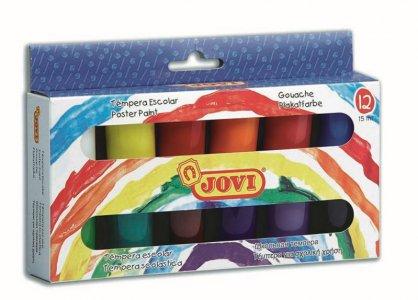 JOVI PREMIUM - Veľké balenie temperových farieb v sade