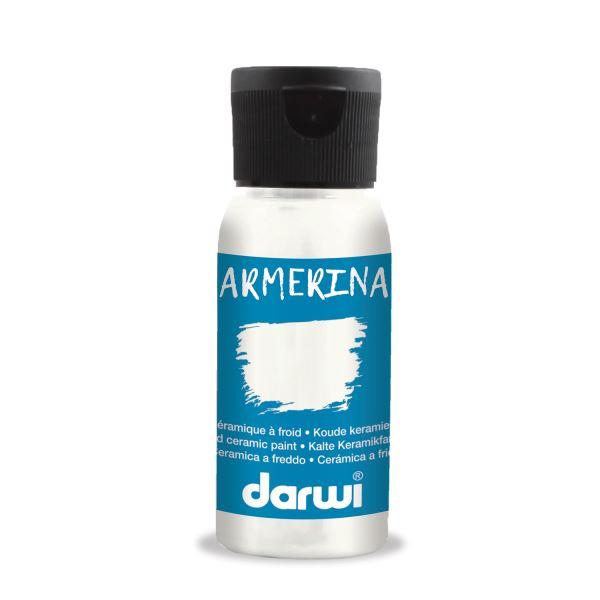 DARWI ARMERINA - Farba na porcelán bez vypaľovania 50 ml 380050100 - čierna