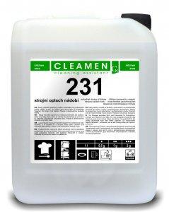 CLEAMEN 231 - Strojný oplach riadov