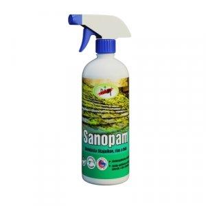 PAM Sanopam - Vysokoúčinný prostriedok na likvidáciu rias a plesní