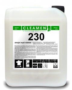 CLEAMEN 230 - Strojné umývanie riadov