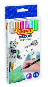 JOVI JOVIDECOR - Metalické fixky na textil MIX
