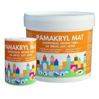 Pamakryl MAT - Vrchná univerzálna farba na kov, drevo a betón