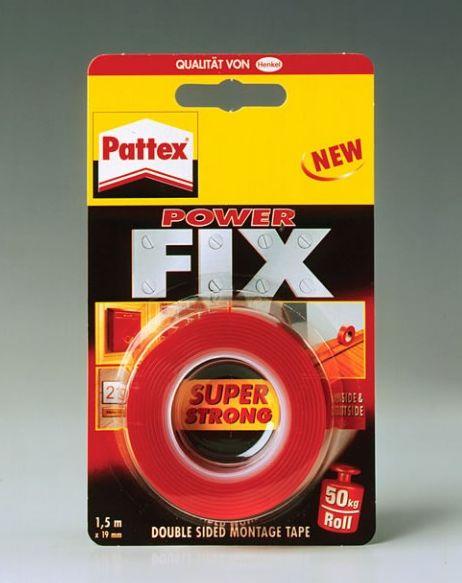 Páska Pattex Power Fix obojstranná 19mmx1,5m 120kg
