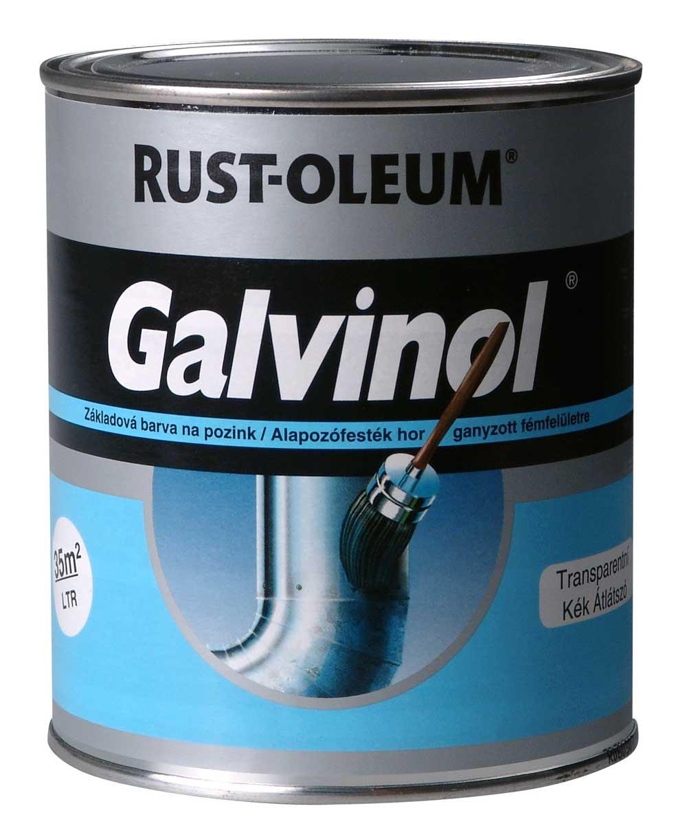 GALVINOL - základná farba na pozink a na povrchy so zlou priľnavosťou 750 ml transparentný - svetlo modrý