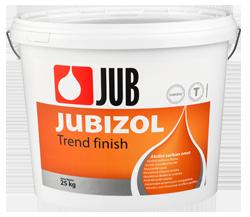 JUBIZOL Trend finish T - siloxanová dekoratívna škrabaná omietka