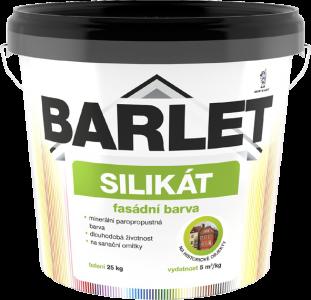 V4015 BARLET - silikátová fasádna farba