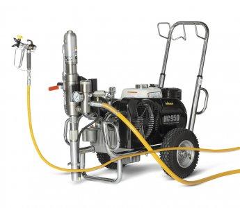 HeavyCoat 950 benzínový pohon  - Hydraulické piestové zariadenie - Vozík