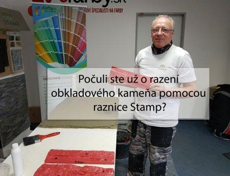 Počuli ste už o razení obkladového kameňa pomocou raznice Stamp?
