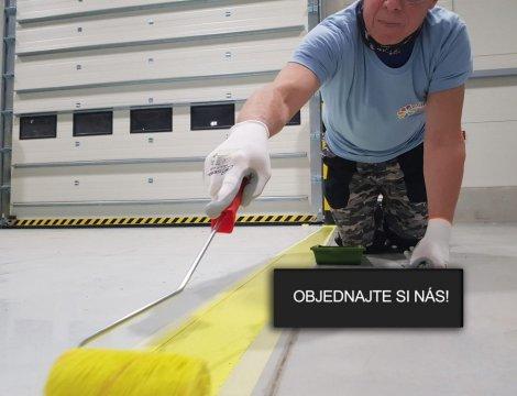 Ako sme robili podlahové značenie na ploche 9500m2 vo výrobnej hale