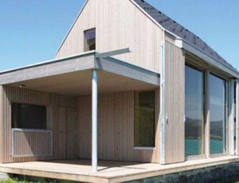 Bezúdržbové drevené fasády - patina a sivý kovový efekt