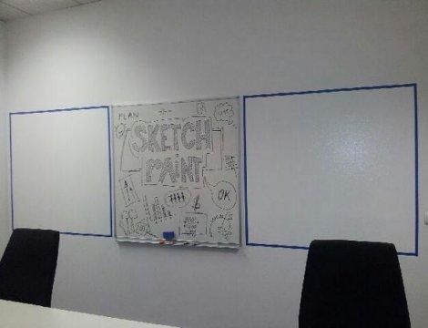 Cenové porovnanie: whiteboard farba vs. whiteboard tabuľa