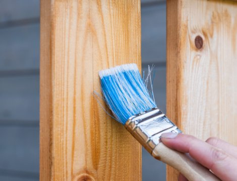 Najčastejšie chyby pri natieraní dreva
