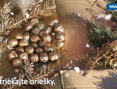 Urob si sám vianočné dekorácie s prírodným nádychom