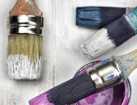 Na aký podklad, materiál je vhodná kriedová farba - Chalk Paint