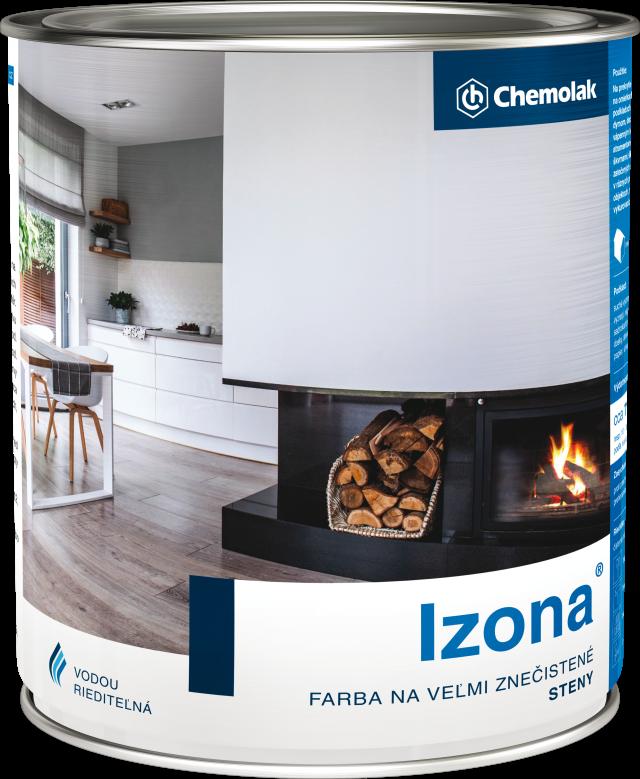 IZONA - Farba na veľmi znečistené steny