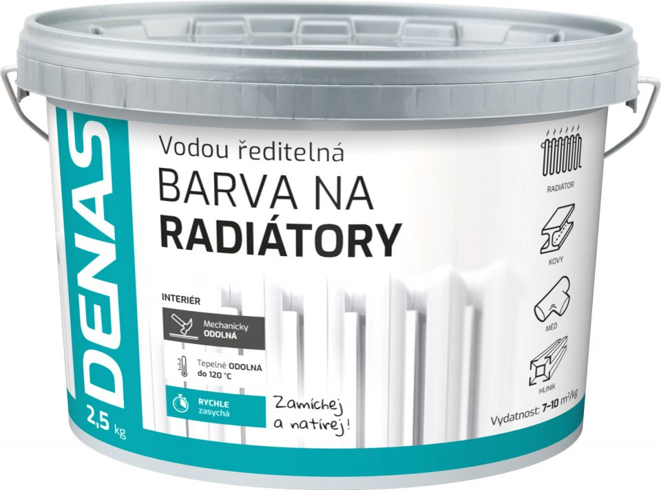 DENAS RADIATOR - farba na radiator