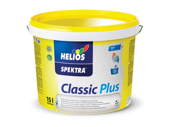 SPEKTRA Classic Plus - vnútorná farba na steny biela 2 l