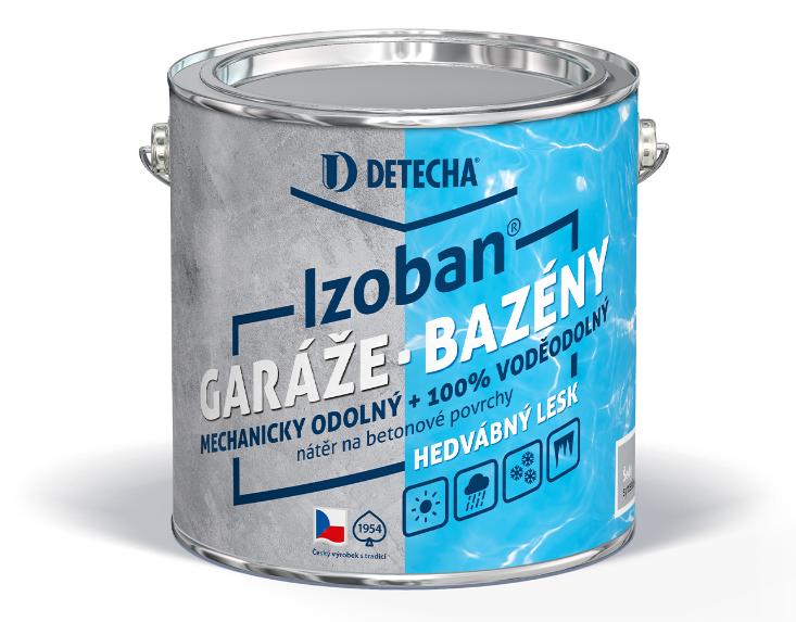 Izoban - syntetická farba na betón