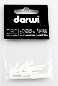 DARWI TEX OPAK - Náhradný hrot do fixy na tmavý textil