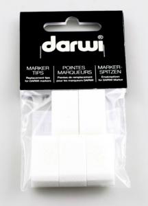 DARWI TEX OPAK - Náhradný hrot do akrylovej fixy MAXI