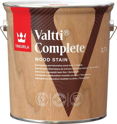 Valtti Complete - Tenkovrstvá lazúra do exteriéru 9 l tvt 5080 - vasa