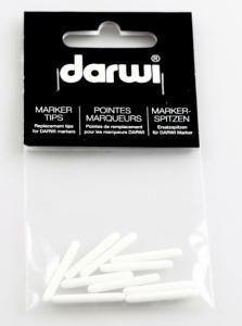DARWI LEATHER - Náhradný hrot do fixy na kožu