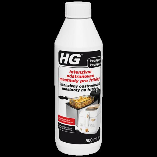 HG Intenzívny odstraňovač mastnoty na fritézy 500 ml