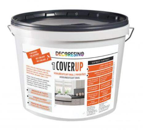 COVER UP - Dvojzložková vodouriediteľná farba 250 ml cu - biela