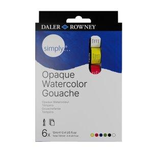 D&R SIMPLY - Sada gvašových farieb