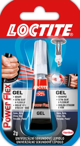 Lepidlo Loctite Super Bond Gel 2g