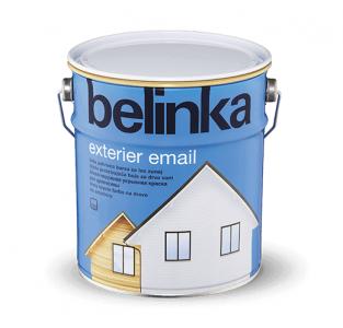 BELINKA Exterier Email - krycia farba na drevo