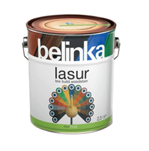 BELINKA Lasur - Tenkovrstvá lazúra 2,5 l 12 - bezfarebná