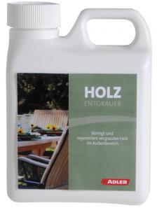 Adler Holzentgrauer - čistič a odšeďovač dreva, odstraňovač zelených povlakov