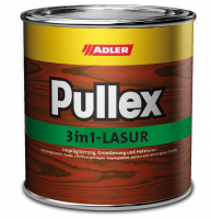Adler Pullex 3v1 lasur - olejová lazúra s impregnáciou a ochranou voči škodcom na drevenice