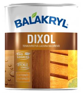 DIXOL - vodouriediteľná lazúra na drevo