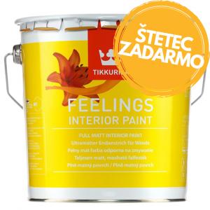 Feelings Interior Paint - plne matná umývateľná farba