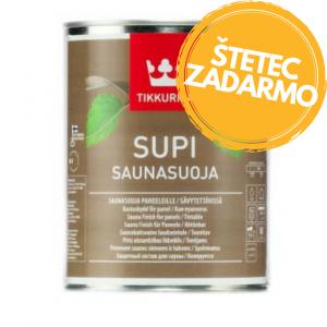 Supi sauna - bezfarebný lak na sauny