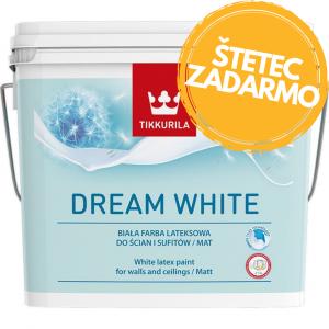 Dream white - ekologická biela farba na steny