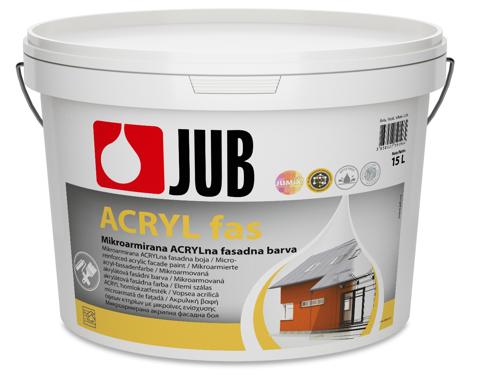 ACRYL Fas - akrylátová fasádna farba biely 2 l