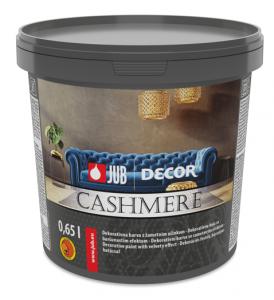 DECOR CASHMERE - Dekoratívna farba so zamatovým efektom
