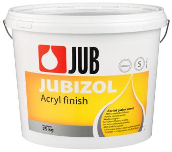 JUBIZOL Acryl finish S - akrylátová dekoratívna hladená omietka