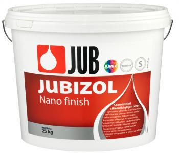 JUBIZOL Nano finish S - samočistiaca silikónová hladená omietka