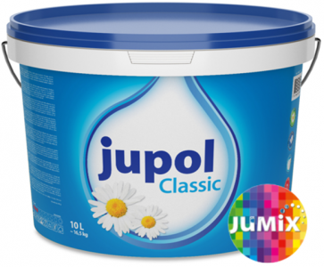 JUPOL CLASSIC - Interiérová farba v palete odtieňov