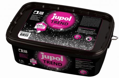 JUPOL Trend glitter - transparentný dekoratívny náter s trblietkami
