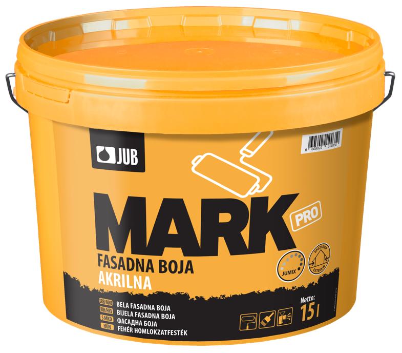 MARK PRO - akrylátová fasádna farba biely 5 l